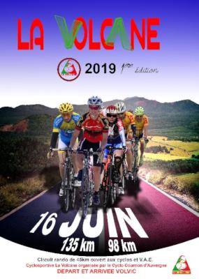 Cyclosportive La Volcane